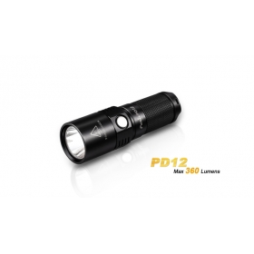Fenix PD12 Cree XM-L2 (T6) LED Waterproof Outdoor Hiking Camping Side Switch Flashlight Torch