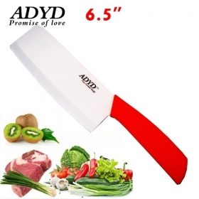"ADYD 6.5"" Ceramic kitchen knife Health Eco-friendly Zirconia kitchen Fruits Ceramic Knives for Modern Kitchen -Red"