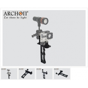 ARCHON Z09 Professional Single hand lamp arm Diving Light MOUNT / Camera underwater photography lighting auxiliary mounts