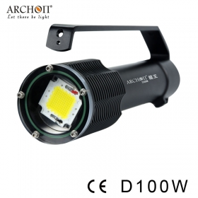 ARCHON D100W (W106W) 100W CREE LED 10000 Lumens Professional underwater Photography light Diving flashlight torches