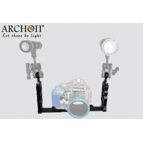 ARCHON Z06 Professional Both hold lamp arm Diving Light support / Camera underwater photography lighting auxiliary support