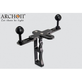 ARCHON Z07 Professional Single hand lamp arm Diving Light support / Camera underwater photography lighting auxiliary support mounts