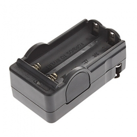 High quality Smart Travel Charger for 1/2 x18650 Battery