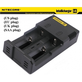 NITECORE Intellicharge i2 Microcomputer Controlled Intelligent Charger Li-ion/NiMH/Ni-Cd Battery Charge