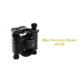 Fenix AF02 Bike Flashlight Mount laser Mount Bicycle clip