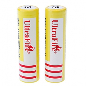 UltraFire high-capacity BRC18650 4200mAh 3.7V Rechargeable Battery (2 pcs)