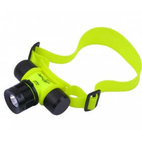 AloneFire HP12 Headlight CREE XR-E R2 LED Professional Diving HeadLamp For 1x18650 or 3xAAA