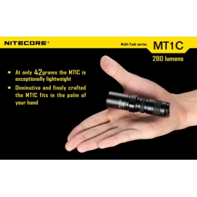 Nitecore MT1C Cree XP-G R5 Led flashlight for cr123 Camping Hiking High Power Torch Tactical flashlight