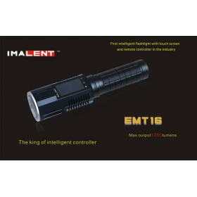 Imalent EMT16 LCD Touch Flashlight CREE XM - L2 LED strong light flashlight