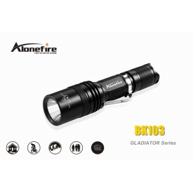 AloneFire GLADIATOR Series BK103 CREE XM-L2 LED 5 mode portable led flashlight torch