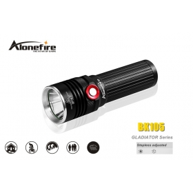 AloneFire GLADIATOR Series BK105 CREE XM-L2 LED 3 mode Stepless adjusted led flashlight torch
