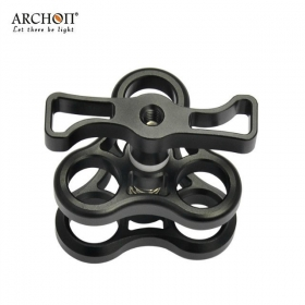 ARCHON Z11 Professional General multifunctional Three holes butterfly clip Camera underwater photography lighting universal auxiliary support
