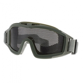 Metal mesh Outdoor Protective Desert Goggle CS outdoor goggles for Rock climbing, mountaineering survival game such as outdoor sports-army green