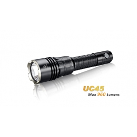 Fenix UC45 Cree XM-L2 (U2) LED 960 lumen USB charging Flashlight Torch
