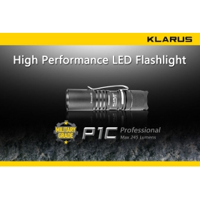 Klarus P1C LED Flashlight 245 Lumens CREE XP-G R5 LED 2 Mode Mini Torch Camping Flashlight