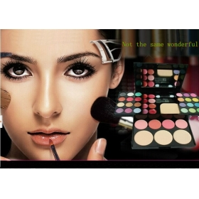 39 Color professional makeup set cosmetics Eyeshadow Make up Cosmetic Blush Blusher Powder Palette