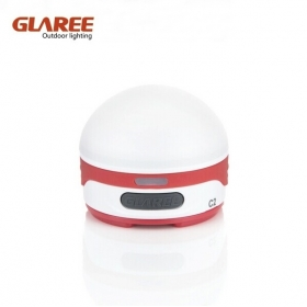 GLAREE C2 CREE 3W LED High tech USB Rechargeable multipurpose portable mini outdoor Camping lamp -Red