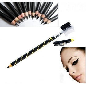 Instant Black Quickly Dry Liquid Eyeliner Pen / Cosmetic Eye Liner Pencil