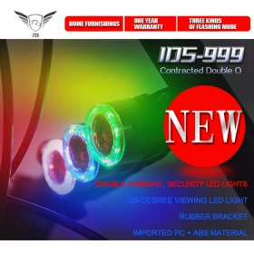 IDS999 latest fashion Sport Cycling Tail Light LED Rear Warning Bicycle Rear Light Lamp Bike light