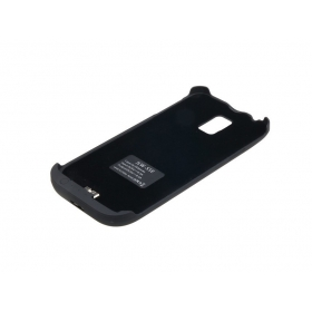 S5E 1PC 3500mAh External Backup Battery Power Charger Case For Samsung Galaxy SV S5 i9600-black