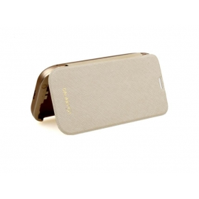 S5H Hight capacity 4800mAh with Top Cover External Backup Battery Case For Samsung Galaxy SV S5 i9600-gold