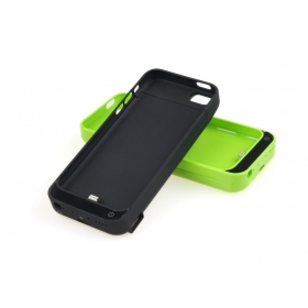 1PC 4200mah Backup Power External Battery case for iphone 5 5S 5C Compatible IOS 7-Black (5C-2)