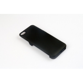 1PC 2400mAh External Battery emergency mobile phone charger Case for iPhone 5 5g 5S-Black (5GT)