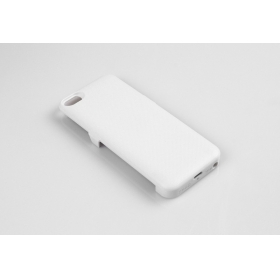 1PC 2400mAh External Battery emergency mobile phone charger Case for iPhone 5 5g 5S- white (5GT)