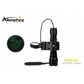 AloneFire TK501Bs Tactical Series CREE XM-L2 LED 1/3/5 mode Professional flashlight torch light -2