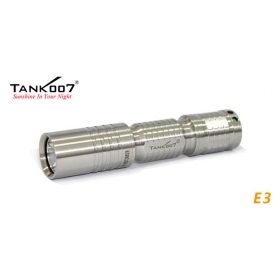 1PC Tank007 E3 Cree XP-G R5 200 LUMENS LED Waterproof EDC Outdoor Camping Hiking Keychain Flashlight Torch