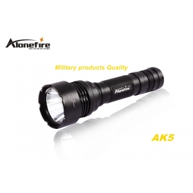 AloneFire AK5 CREE XM-L2 LED 5 mode Super upper beam irradiation lightweight flashlight torch