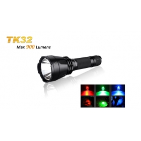 Fenix TK32 Long-range Tactical Flashlight Cree XM-L2 LED 900Lumens Dual Tail Switch led Flashlight
