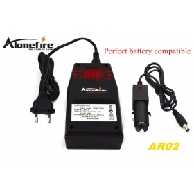 ALONEFIRE AR02 Intelligent multi-functional charger for 32650 26650 18650 18350 16340 14500 10440 Rechargeable batteries