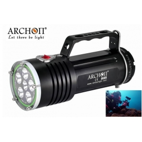 ARCHON DG60/WG66 Diving Light XM-L2 LED 2200lm Rechargeable Li- ion Battery Pack Scuba Dive Torch