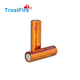 1PC TrustFire battery 13450 battery 13450 IMR 550mah 3.7V battery button top battery
