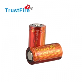 TrustFire 5A-10A IMR 18350 3.7v 700mah high drain battery