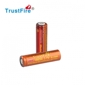 High quality TrustFire 10A - 25A 2000mah 3.7V rechargeable IMR 18650 lithium batteries