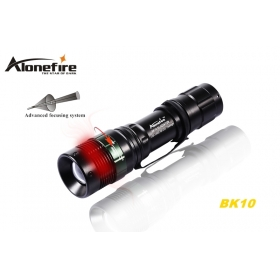 ALONEFIRE BK10 CREE XPE Q5 LED 268Lumens Portable Zoom Flashlight Torch