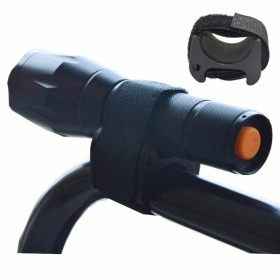 sports bicycle accessories Holder Clip Bicycle Bike LED Flashlight Mount Bracket Holder Torch Clip Clamp Universal - M2967