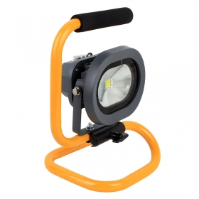 H08 Portable Ultra Bright Cordless Rechargeable Led Flood Spot Work Light Lamp 10W Water Resistant