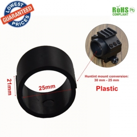 W4 hunting accessories 30mm mount gasket adjustable 25mm gun accessories 1PC