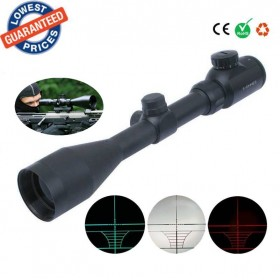 High definition 3-9X44EG hunting Red green laser coordinates Scope Telescopic telescope