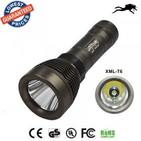 Professional diving flashlight Underwater CREE XML T6 LED Flashlight Torch WaterproofLight Lamp super T6 - Q2
