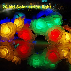1set 20 led Solar Christmas Lights solar Fairy String Lights for Outdoor, Gardens, Homes, Wedding, Christmas Party, Waterproof