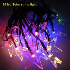 1set 20 led led solar light outdoor string lights for garden solar fairy string lights for outdoor homes Christmas party