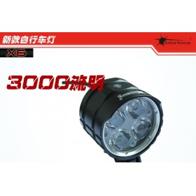 Solarstorm X6 Bicycle light 3000LM Cree xm T6 led bicycle light bike light lamp + battery pack + charger + gift box