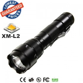 USA EU Hot sell Classic 502B 1/3/5Mode Cree XM-L2 LED tactical hunting police Flashlights Torches lamps for 18650 Rechargeable batteries