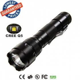 USA EU Hot sell Classic WF-502B Cree Q5 LED 1/3/5Mode Outdoor lighting Flashlights Torches lamps for 18650 Rechargeable batteries