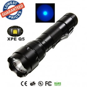 UltraFire USA EU Hot sell Classic WF-502B Cree XPE Blue light LED 1 Mode Outdoor Hunting Work lighting Flashlights Torches lamps for 18650 Rechargeable batteries