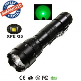 USA EU Hot sell Classic UltraFire WF-502B Cree XPE Green lights LED 1 Mode Outdoor fishing Work lighting Flashlights Torches lamps for 18650 rechargeable batteries